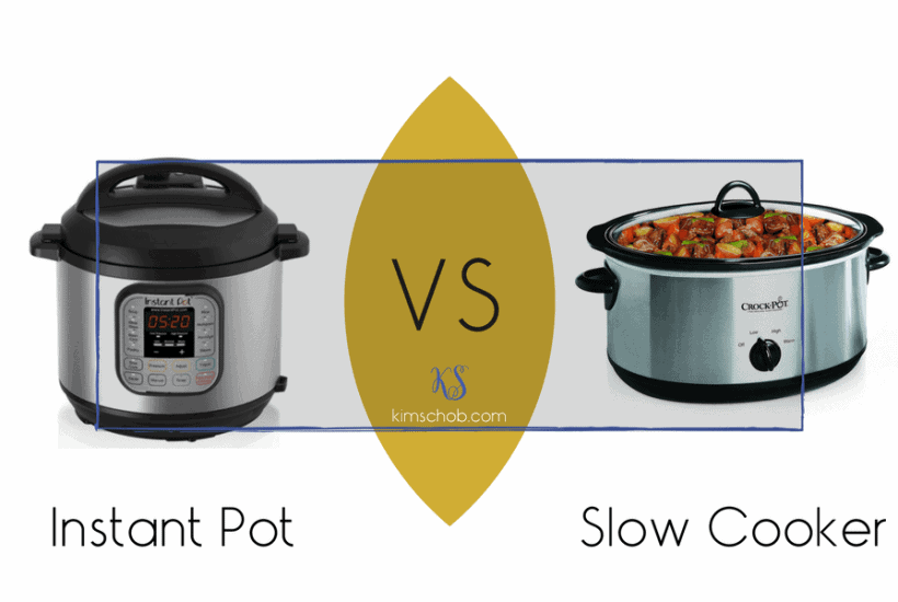 Instant Pot vs Slow Cooker | kimschob.com