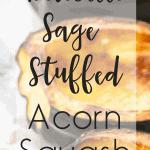 Portobello Sage-Stuffed Acorn Squash   kimschob.com