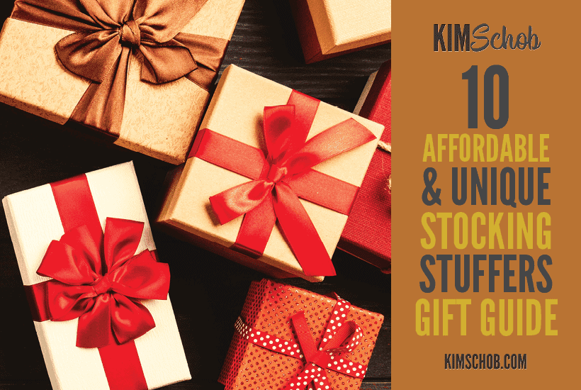 wrapped gifts on wooden table | kimschob.com