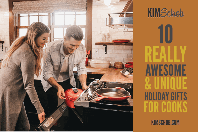 10 Really Awesome and Unique Holiday Gifts for Cooks | kimschob.com