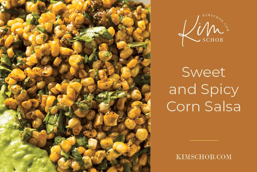 Sweet-and-Spicy-Corn-Salsa | kimschob.com