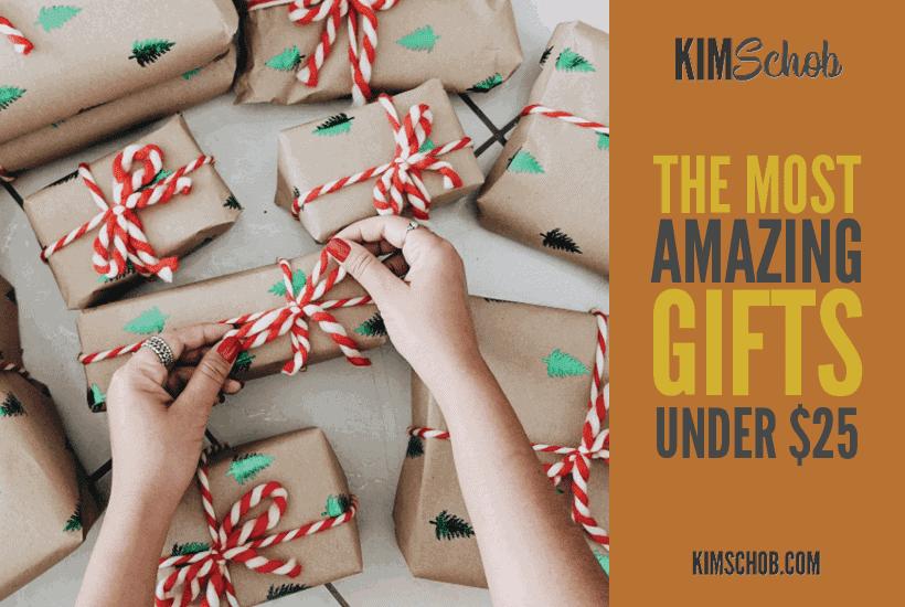 gifts under $25| kimschob.com