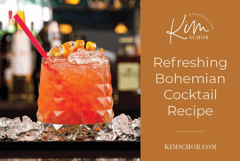 Refreshing-Bohemian-Cocktail-Recipe | kimschob.com