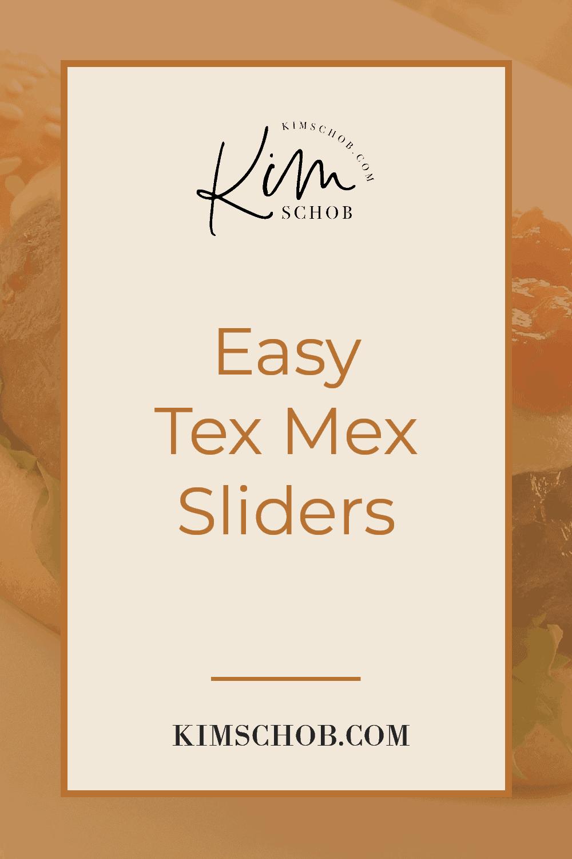 Easy-Tex-Mex-Sliders