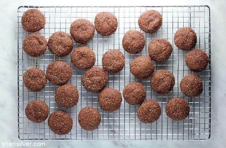 hot choc cookies • Kim Schob