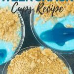 4 Ingredient Shark Week Snack Cups Recipe   kimschob.com