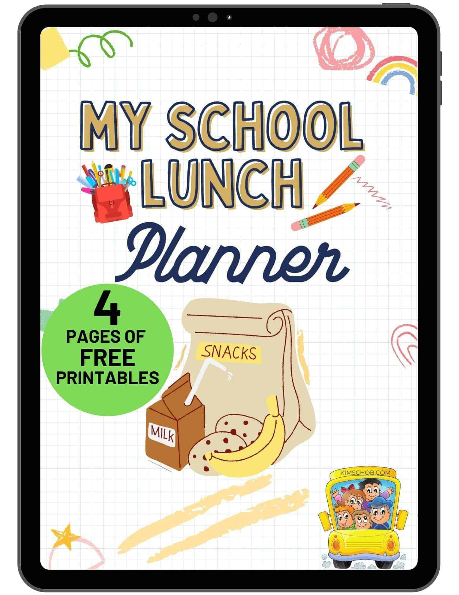 11-School-Lunch-Ideas-Your-Kids-Will-Love | kimschob.com