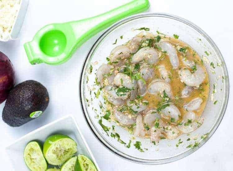 Sheet Pan Cilantro Lime Shrimp Tacos | kimschob.com