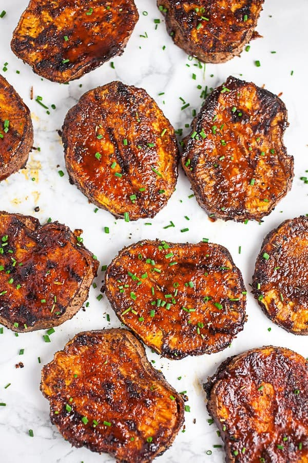 Copy of BBQ Sweet Potatoes 5 • Kim Schob