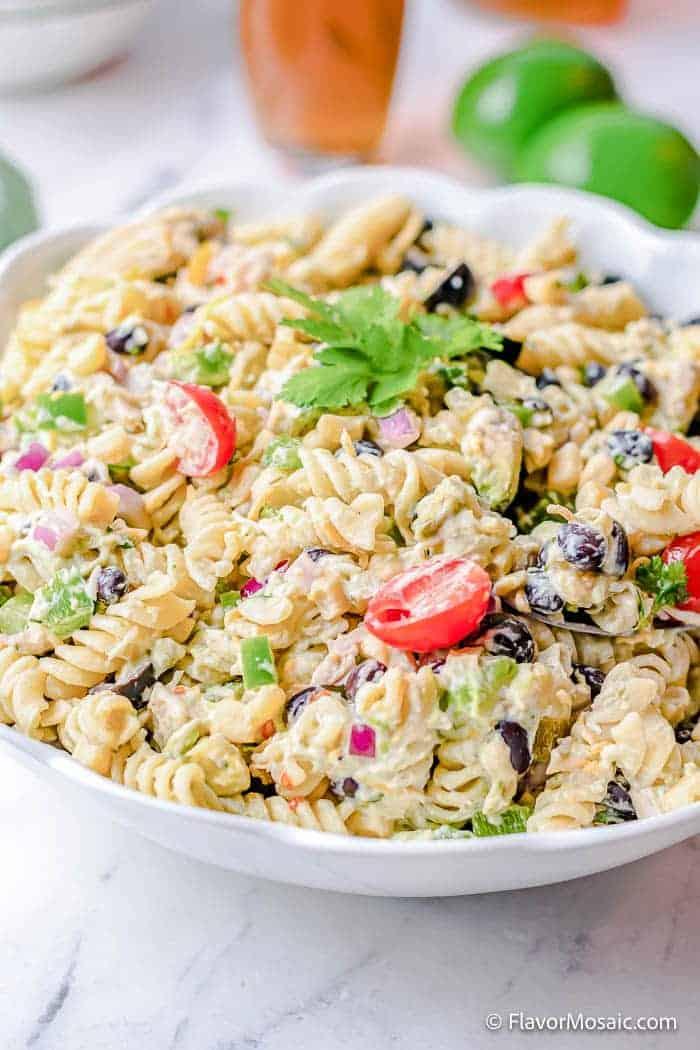 Copy of Mexican Chicken Southwest Pasta Salad 3 • Kim Schob