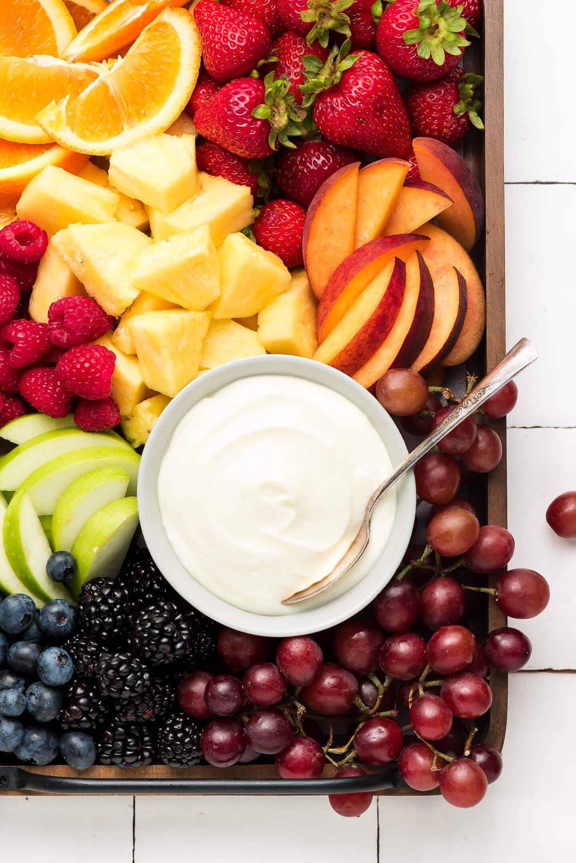 Copy of cream cheese fruit dip 2 • Kim Schob