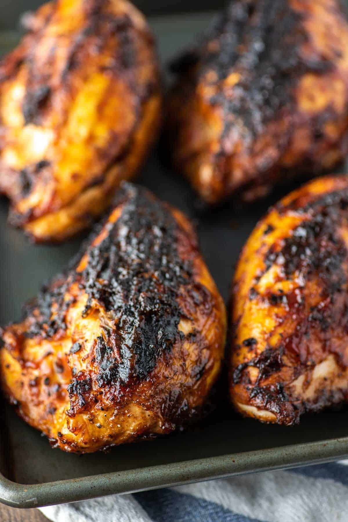 Copy of grilled bbq chicken 2 • Kim Schob