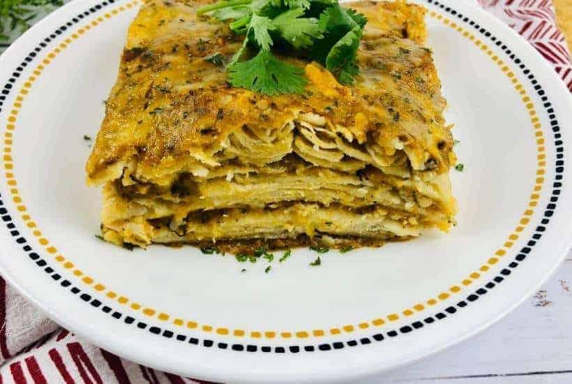 Enchilada Pie Casserole | kimschob.com