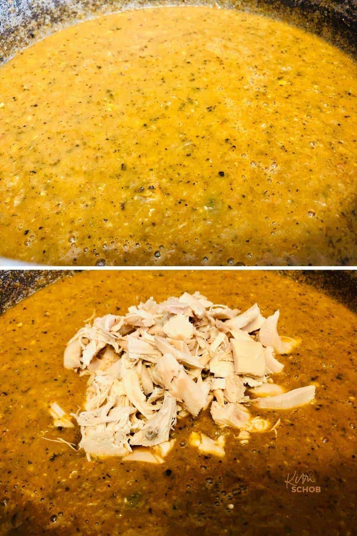 Enchilada Pie Casserole   kimschohob.com