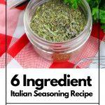 Italian Seasoning | kimschob.com