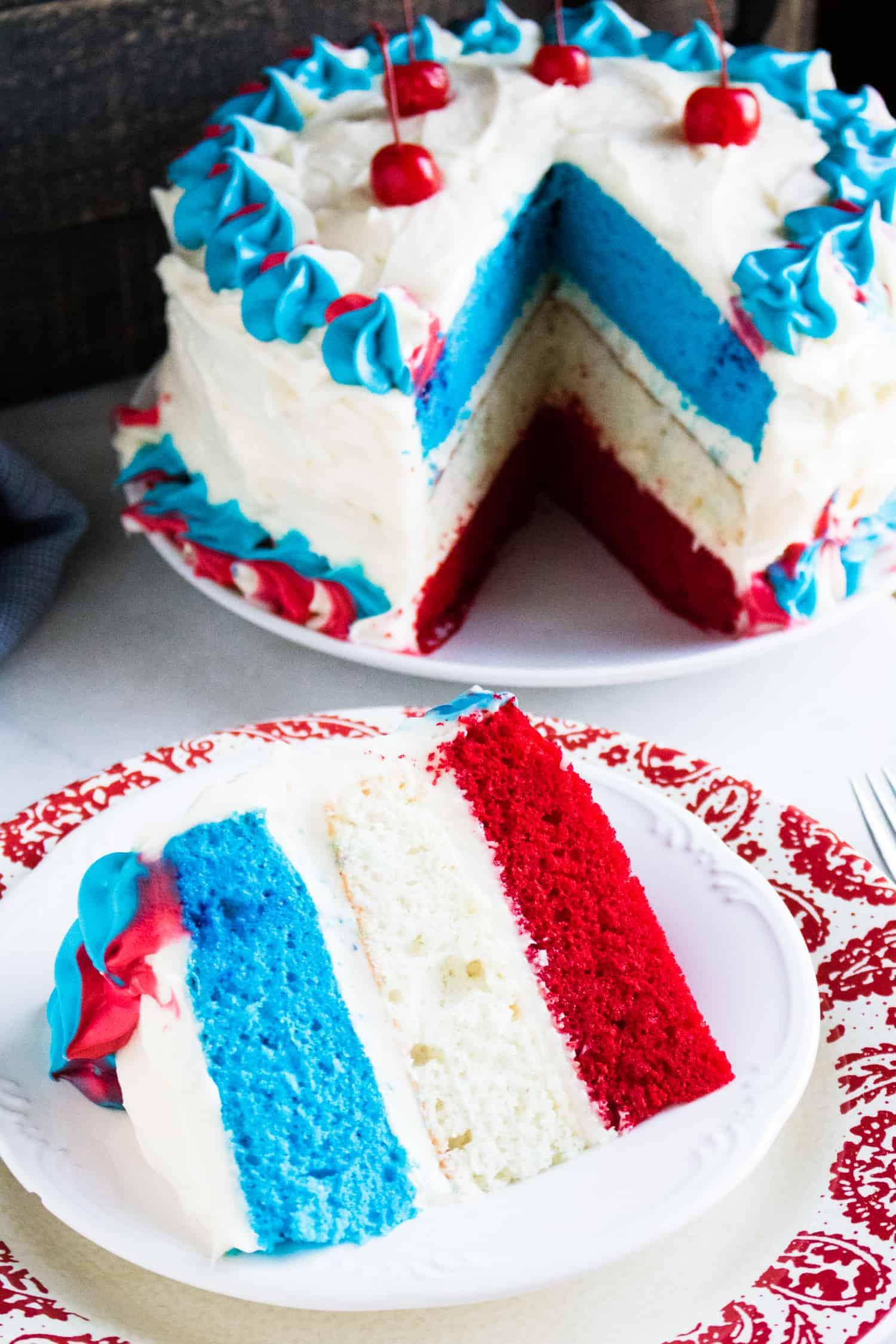 Red White and Blue Desserts | kimschob.com