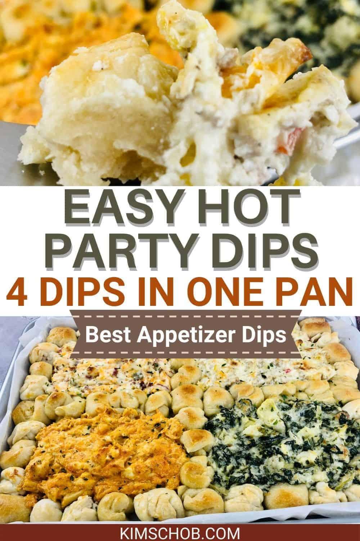 4 dips in one pan | kimschob.com
