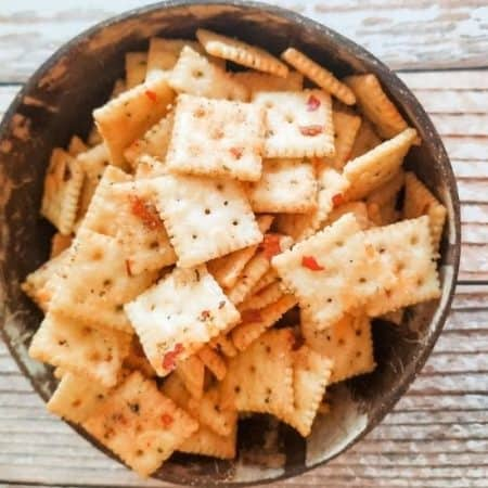 A bowl of alabama fire crackers