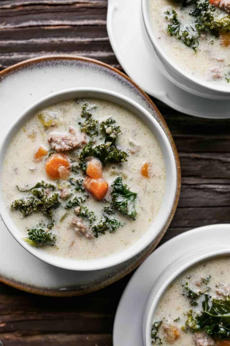IP Sausage and Kale Soup 8763 • Kim Schob