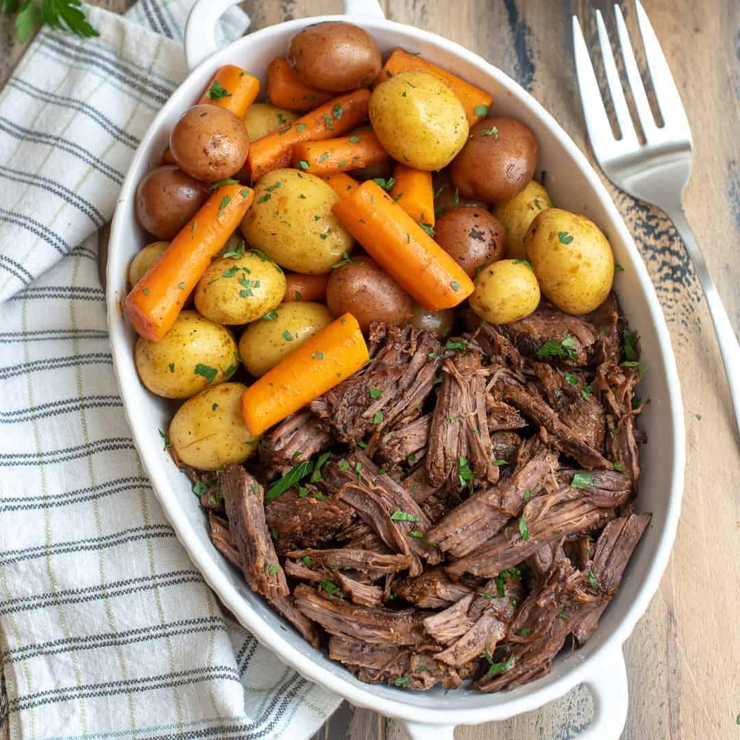 Instant Pot Beef Stew SQ 062 • Kim Schob