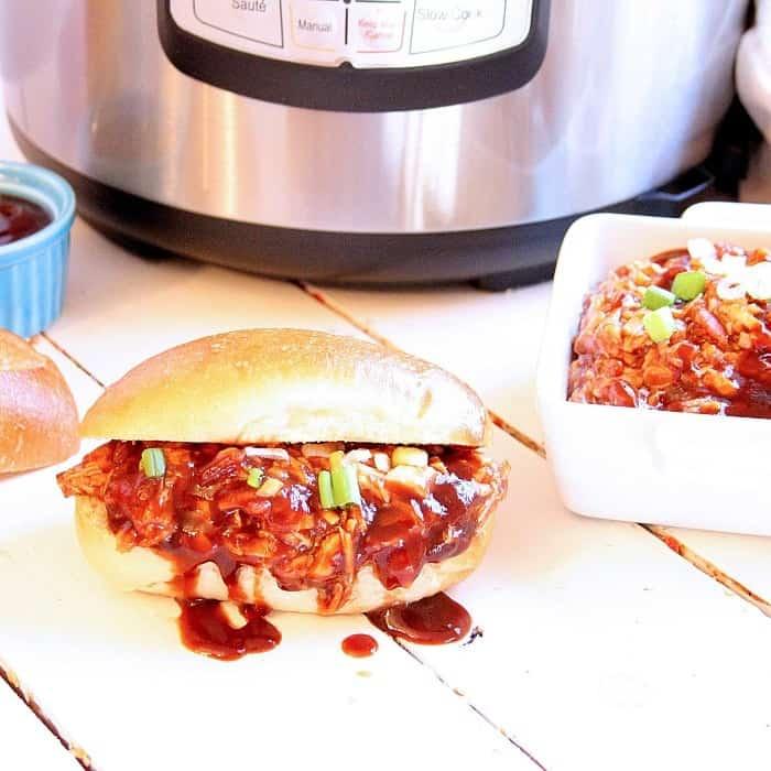 Instant Pot Hawaiian BBQ Chicken • Kim Schob