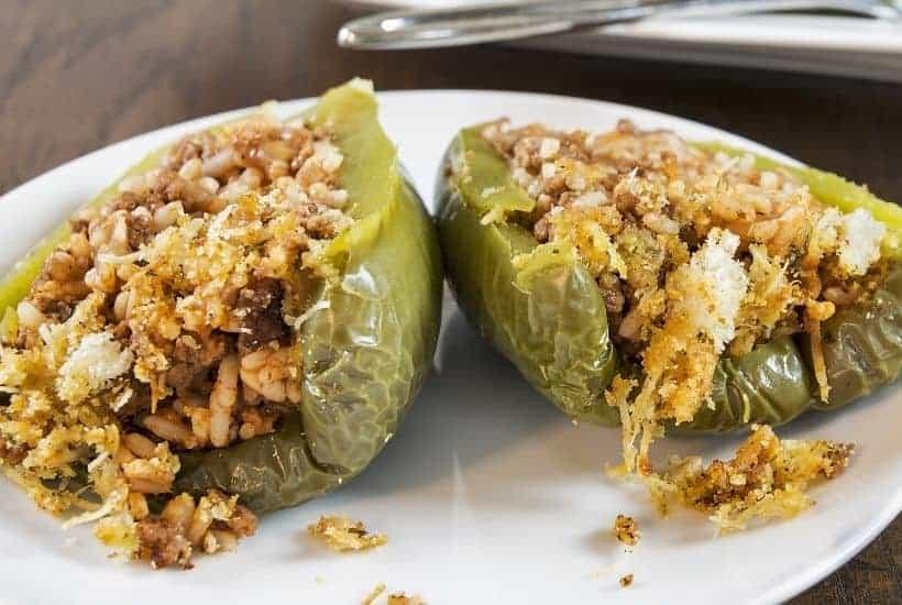 InstantPot Stuffed peppers | kimschob.com