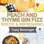 Peach gin fizz   kimschob.com
