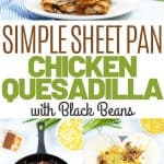 sheet pan quesadilla | kimschob.com