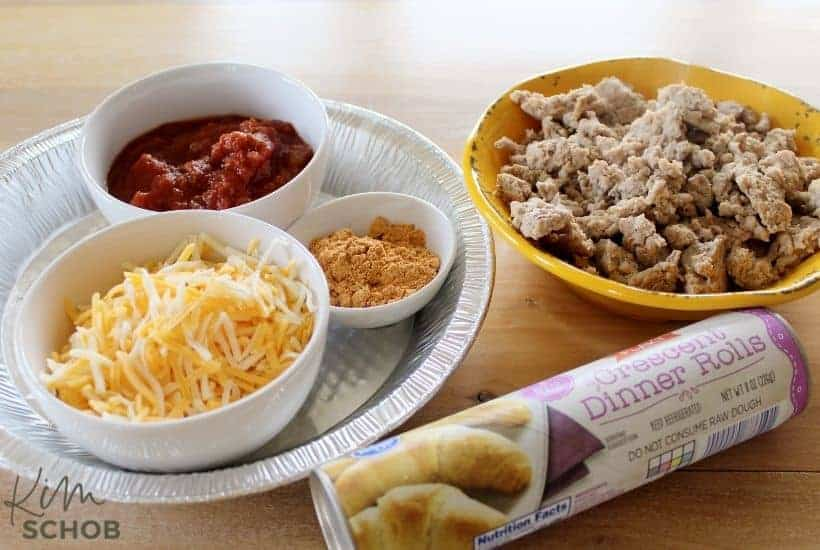 Taco bake casserole Ingredients • Kim Schob