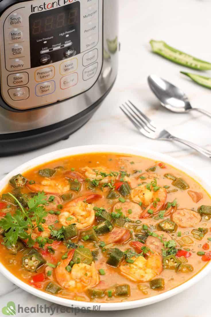 instant pot gumbo recipe • Kim Schob