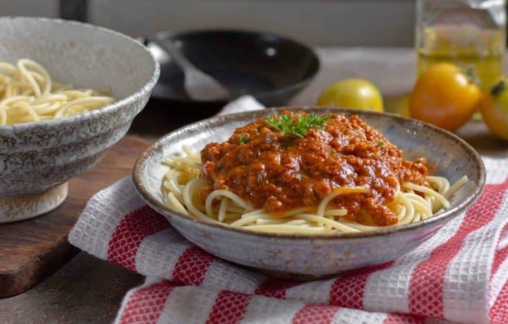 super easy six minute instant pot spaghetti 2 • Kim Schob