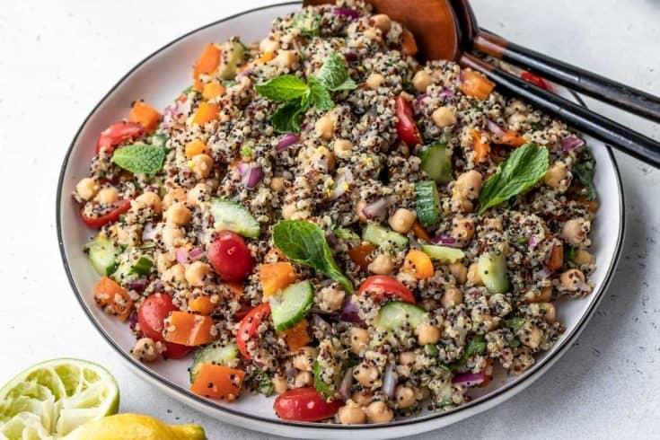 zesty quinoa salad 4 • Kim Schob