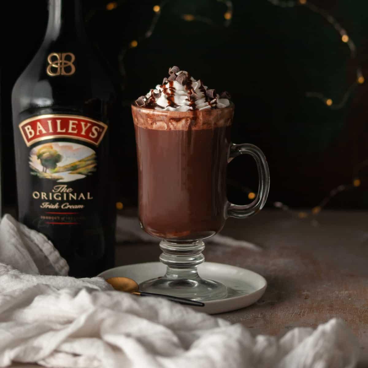 Baileys Hot Chocolate Bombs Featured Image • Kim Schob