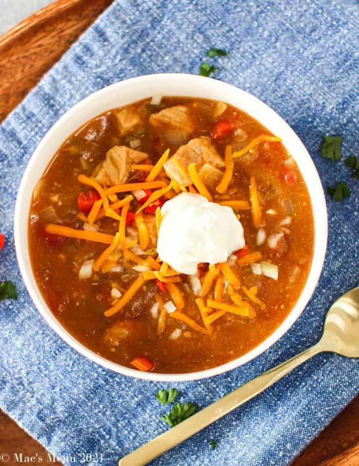 Colorado pork green chili 21 • Kim Schob