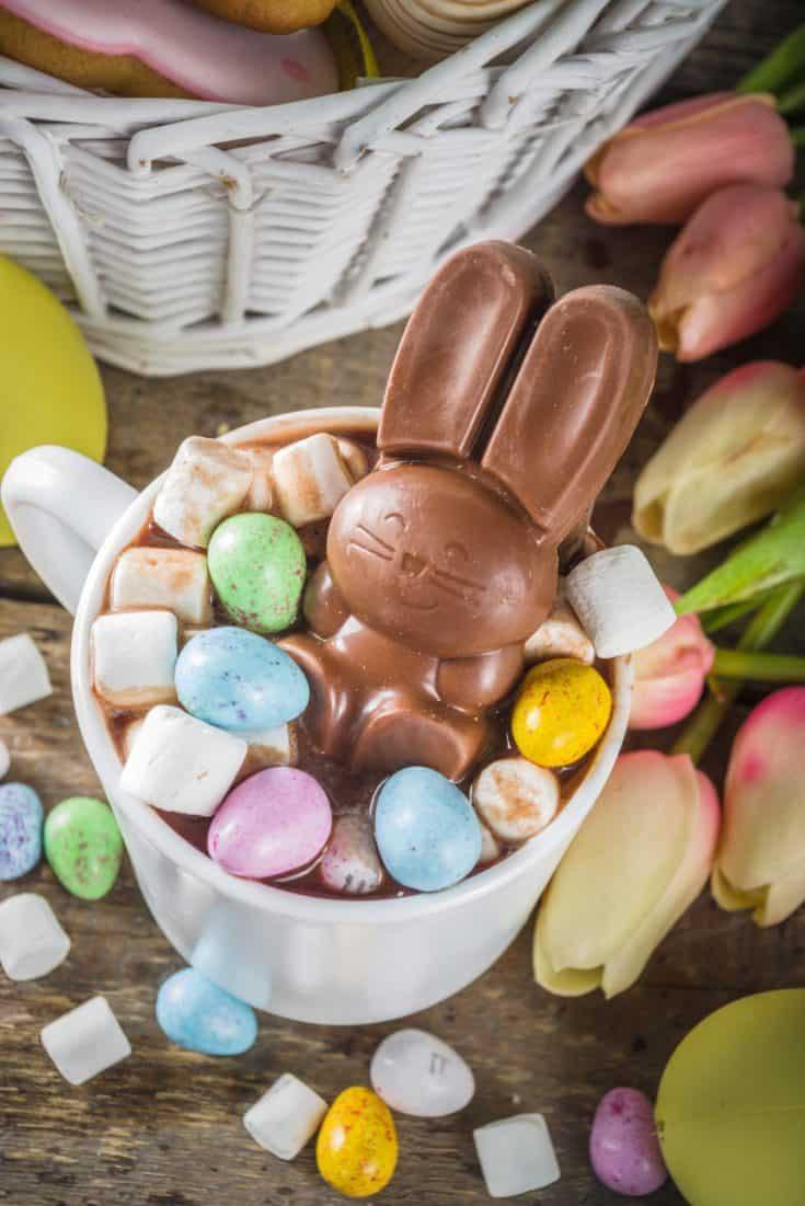 Easter Bunny Hot Chocolate Bomb scaled 1 • Kim Schob