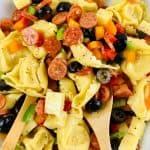 Loaded Tortellini Salad   kimschob.com