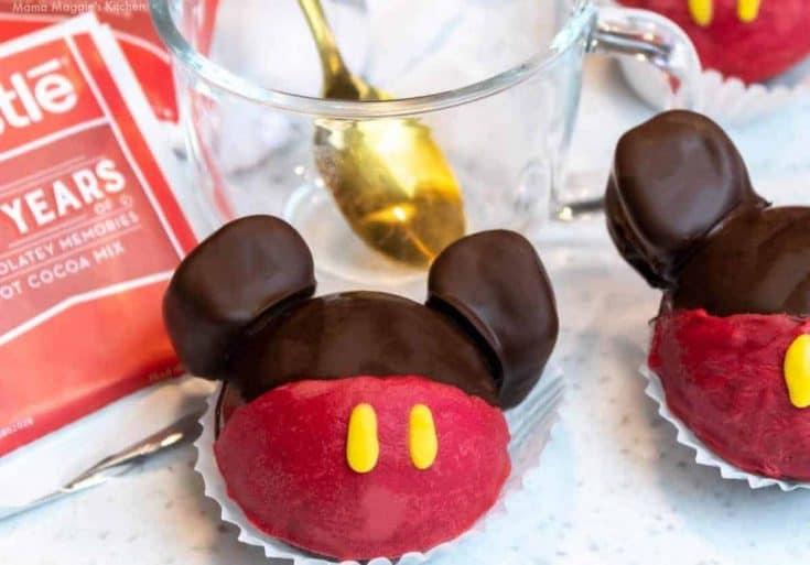 Mickey Mouse Hot Chocolate Bomb 3 • Kim Schob