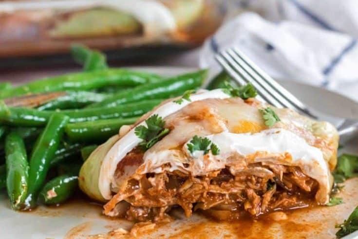 low carb cabbage enchilada 27 • Kim Schob