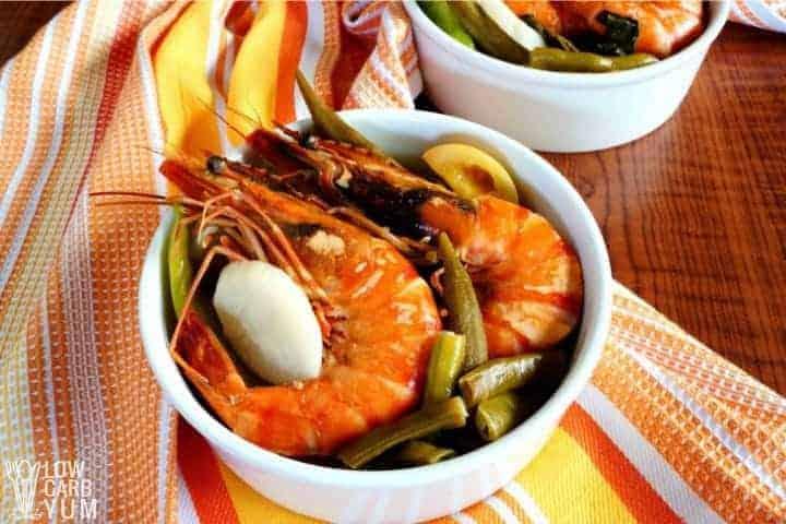 sinigang filipino soup • Kim Schob