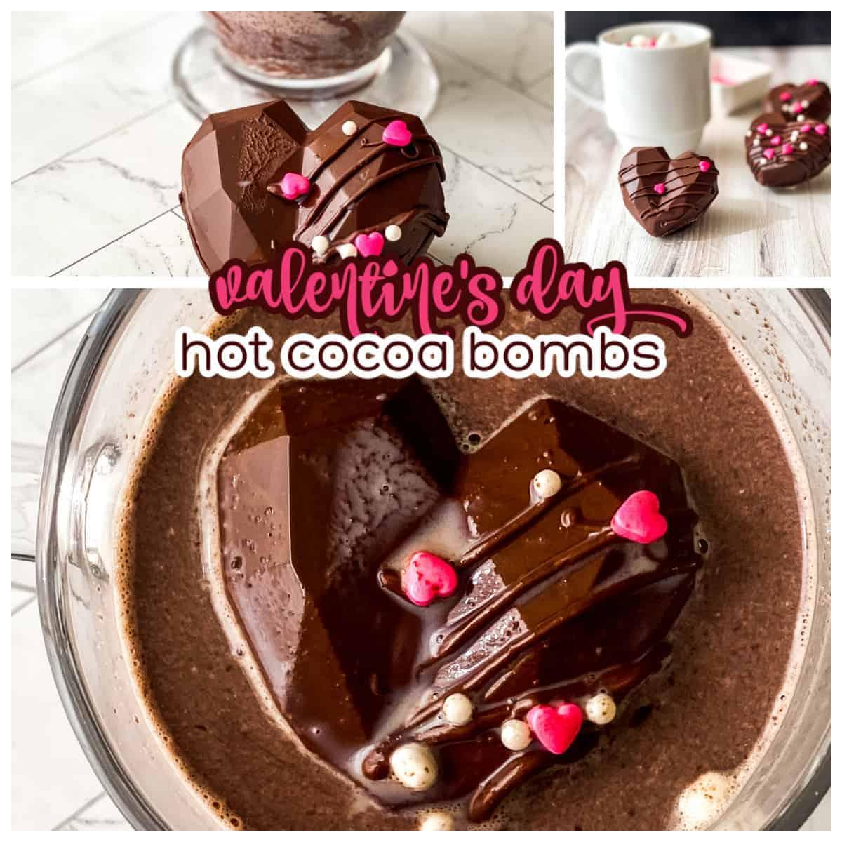 valentines day hot cocoa bombs 1 • Kim Schob